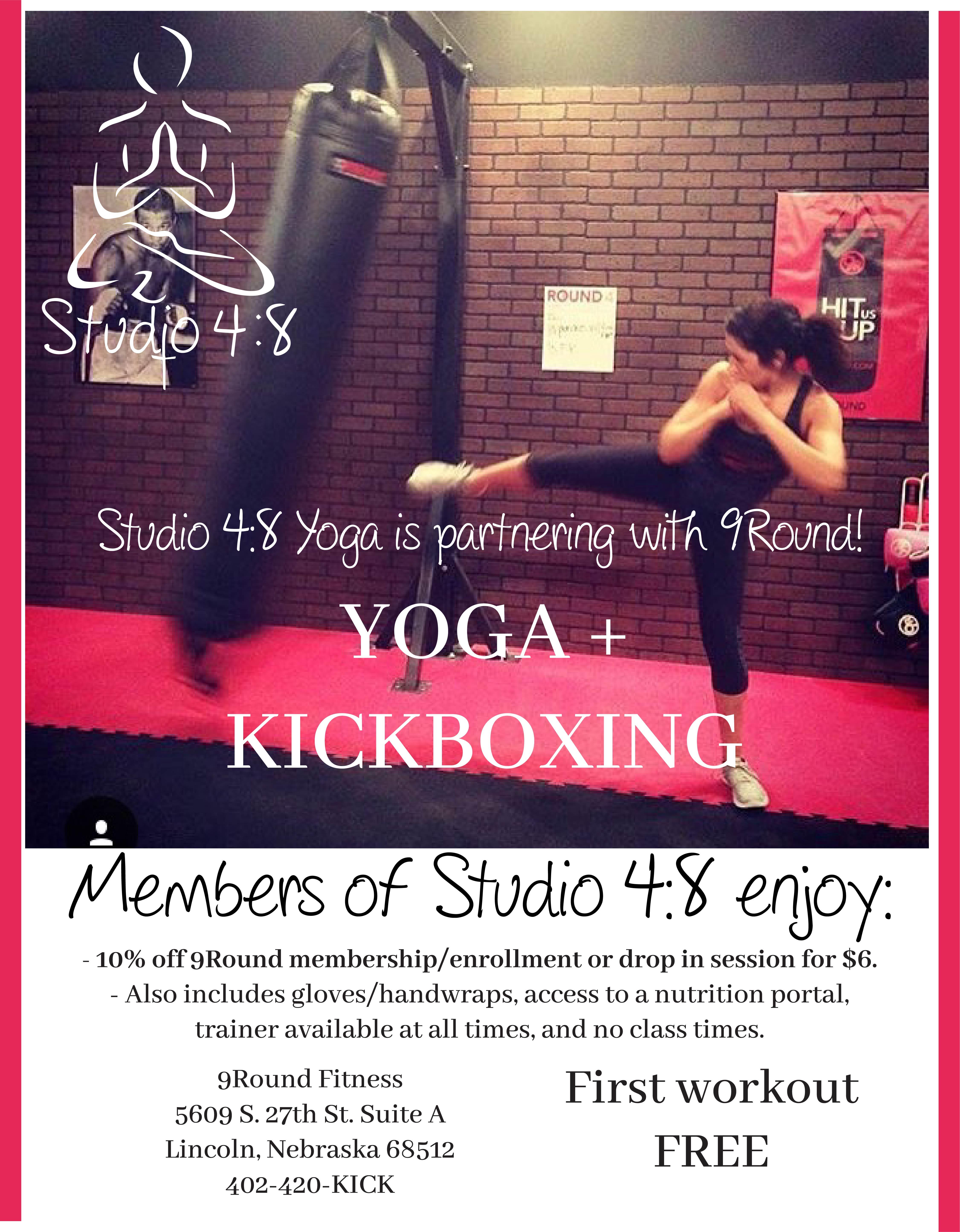 Partnership with 9Round || Kickboxing!