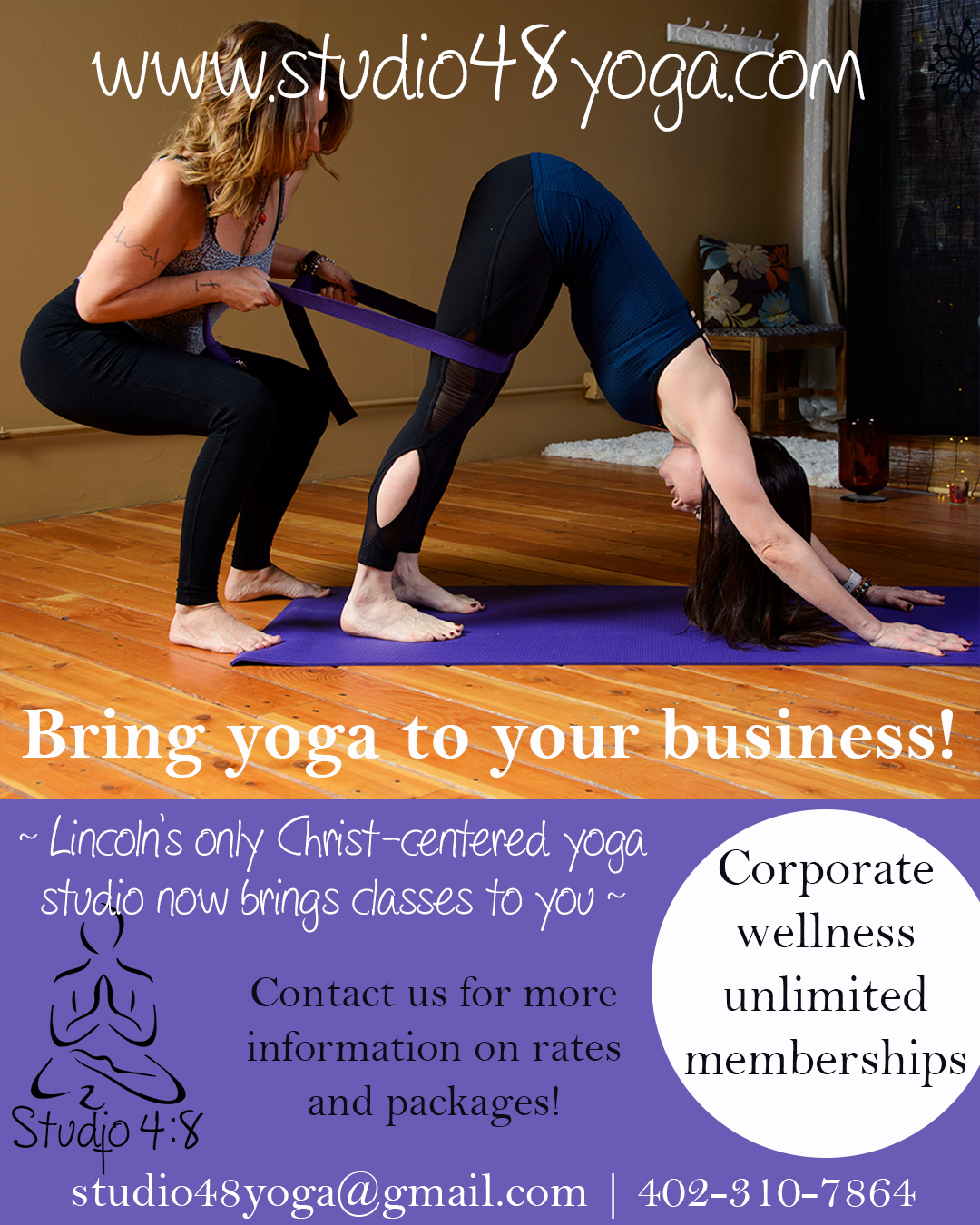 Bring yoga to YOUR business!