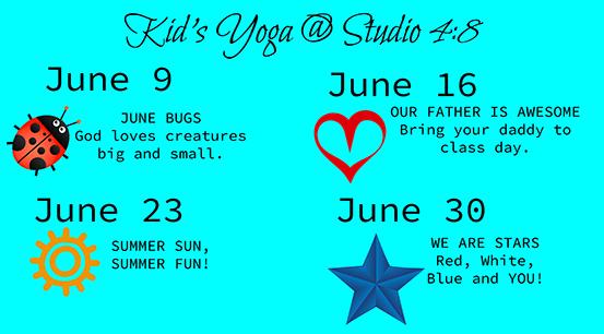 Kid's and Tweens Yoga!